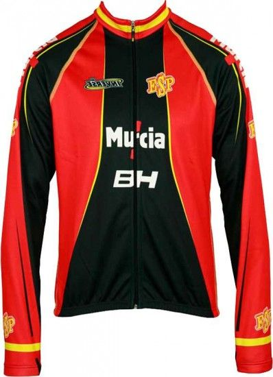 Inverse España 2012 Professional Cycling Team - Cycling Long Sleeve Jersey