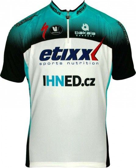 Vermarc Etixx Ihned 2013 Professional Cycling Team - Cycling Jersey With Short Zip