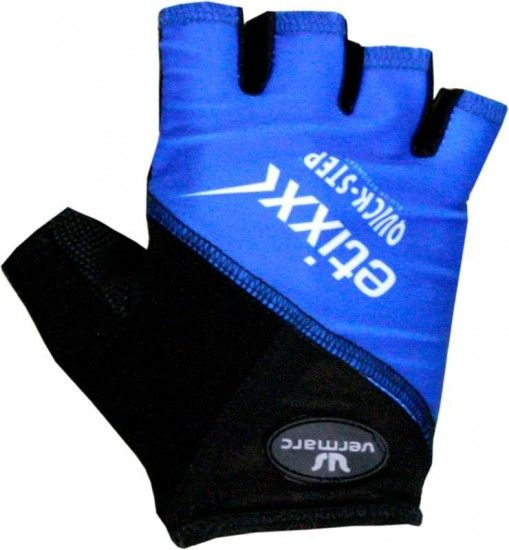 Vermarc Etixx-Quickstep 2016 Short Finger Gloves (Lightblue) - Professional Cycling Team