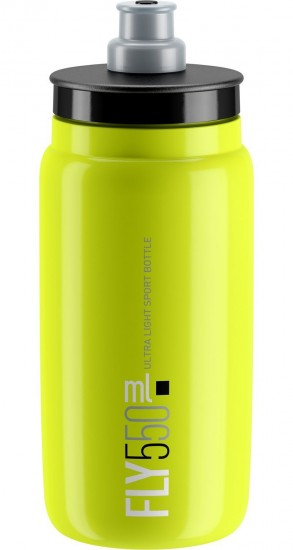 Elite Fly Water Bottle 550 Ml Yellow Fluo