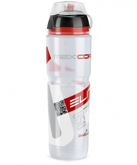 Elite Maxicorsa Mtb 950Ml Water Bottle Clear/Red