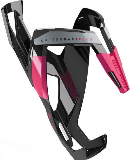Elite Bottle Cage Custom Race Plus Black/Pink