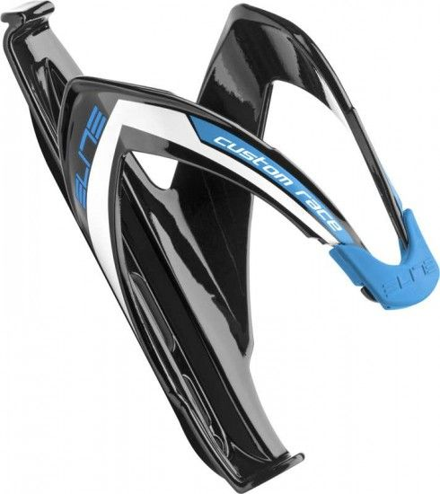 Elite Bottle Cage Custom Race Black/Blue