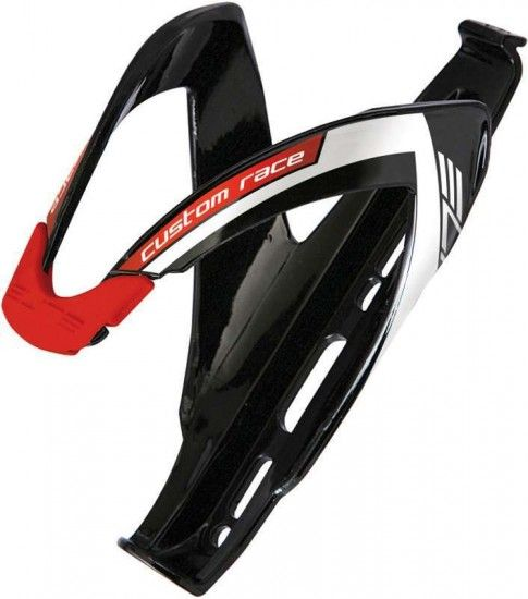 Elite Bottle Cage Custom Race Black/Red
