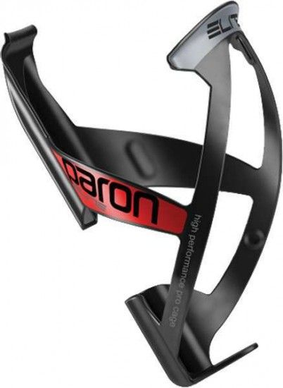 Elite Bottle Cage Paron Race Black-Glossy/Red
