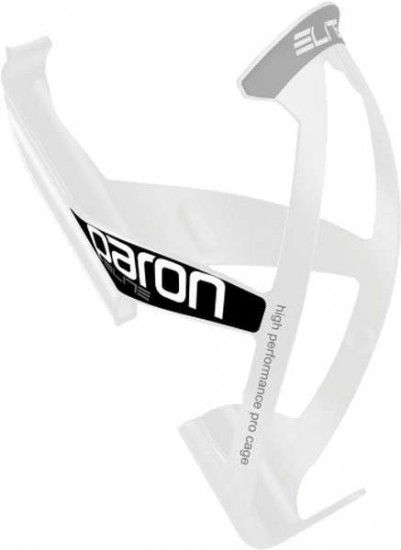 Elite Bottle Cage Paron Race White-Glossy/Black