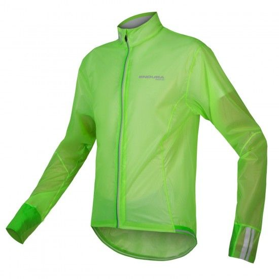 Endura Fs260-Pro Adrenaline Ii Wind/Waterproof Competition-Jacket Fluo Green-Translucent (E9106Gv)