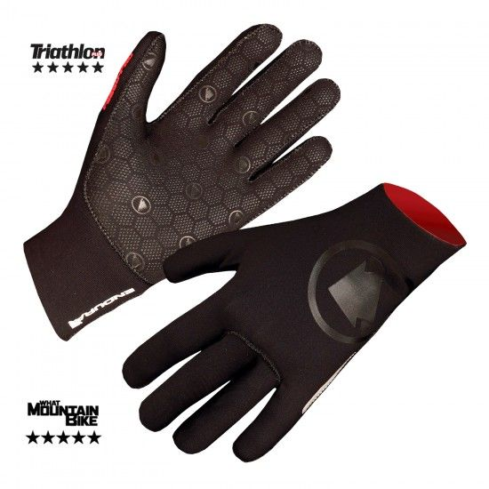 Endura Fs260-Pro Nemo Neoprene Long Finger Gloves Black (E0095Bk)