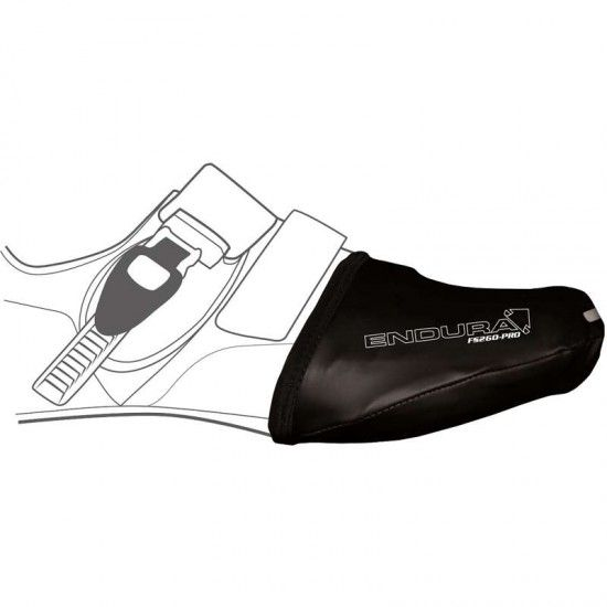 Endura Fs260-Pro Slick Toe Cover Black (E0073Bk)