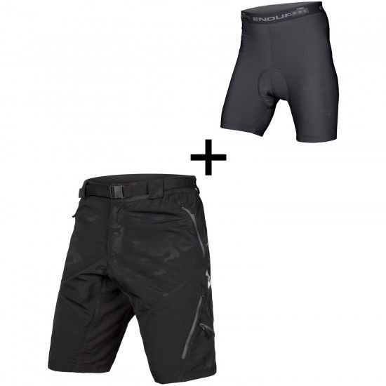 Endura Hummvee Ii Bike Shorts Black Camo (E8064Bc)