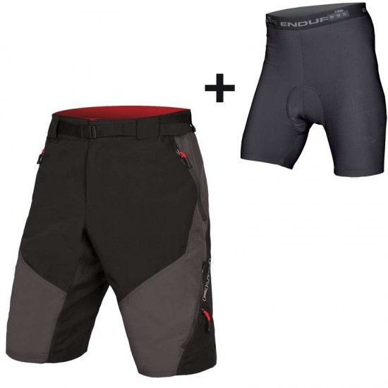 Endura Hummvee Ii Bike Shorts Gray/Black (E8064Gy)