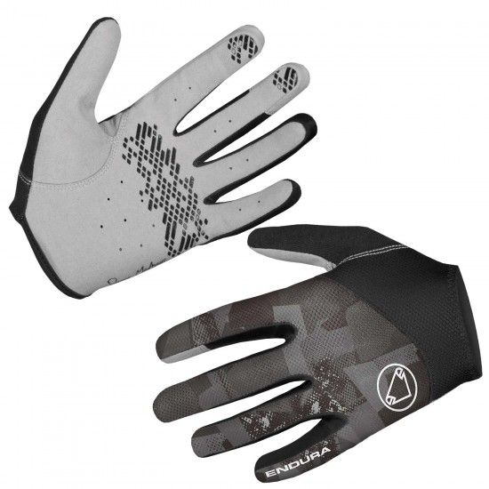 Endura Hummvee Lite Ii Long Finger Mtb Gloves Grey (E1204Gc)