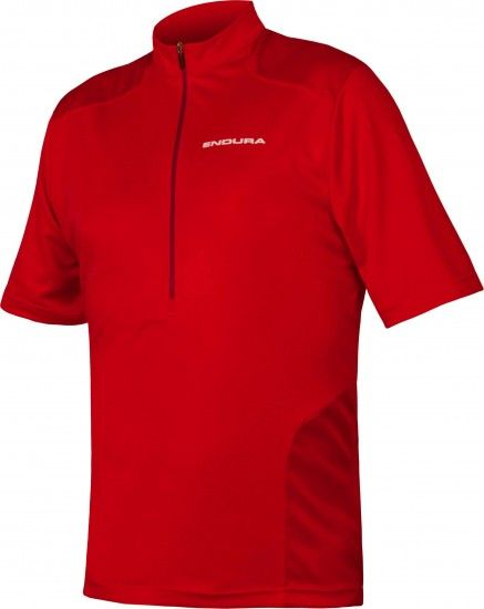 Endura Hummvee Mtb Short Sleeve Cycling Jersey Red (E3125Rd)