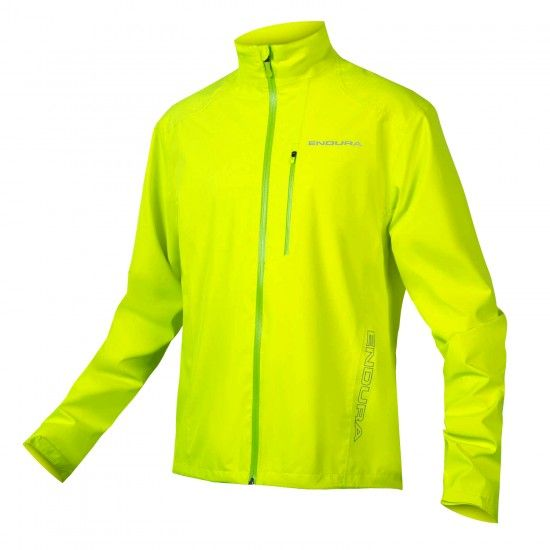 Endura Hummvee Waterproof Cycling Jacket Yellow Fluo (E9120Yv)