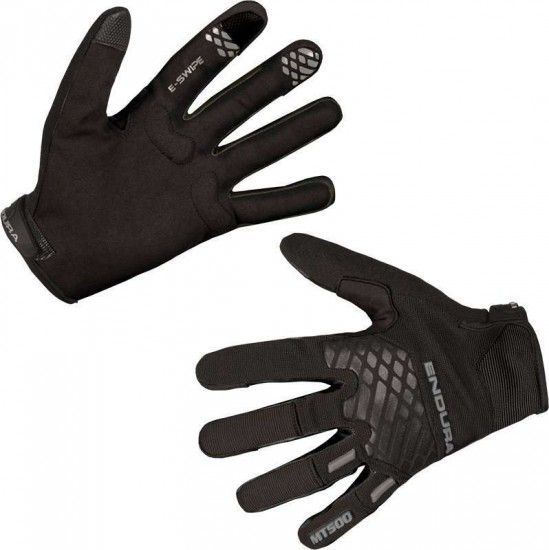 Endura Mt500 Ii Long Finger Mtb/Freeride Gloves Black (E0132Mb)