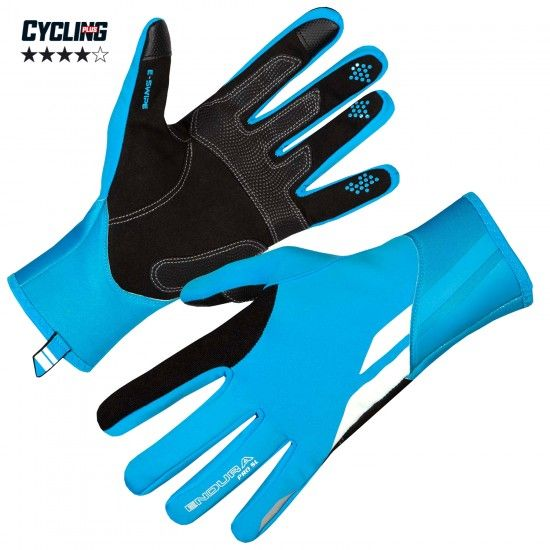 Endura Pro Sl Long Finger Cycling Gloves (Windproof) Blue (E0127Bv)