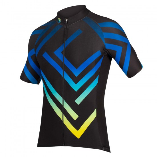 Endura Pt Maze Ltd Short Sleeve Cycling Jersey Black (E5070Bk)