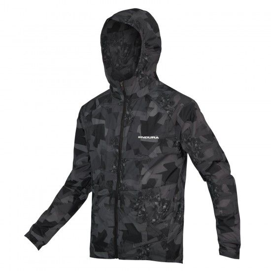 Endura Singletrack Durajak Windproof Cycling Jacket Grey Camo (E9138Gc)