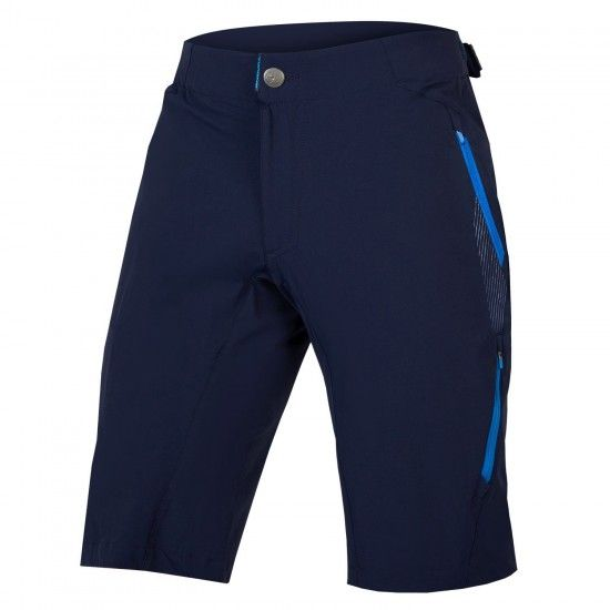 Endura Singletrack Lite Ii Bike Shorts Navy Blue (E8067Na)