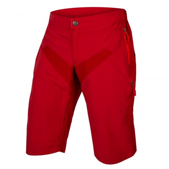 Endura Singletrack Ltd Bike Shorts Red (E8081Rr)