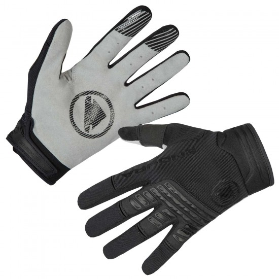 Endura Singletrack Long Finger Mtb Gloves Black (E1168Bk)