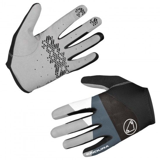 Endura Wms Hummvee Lite Ii Womens Long Finger Mtb Gloves Black (E6155Bk)