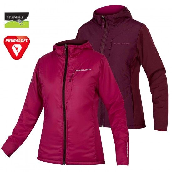 Endura Wms Urban Flipjak Ii Reversible Jacket Mullberry (E9125My)