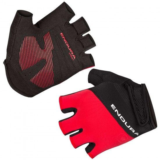 Endura Xtract Ii Short Finger Cycling Gloves Red (E1165Rd)