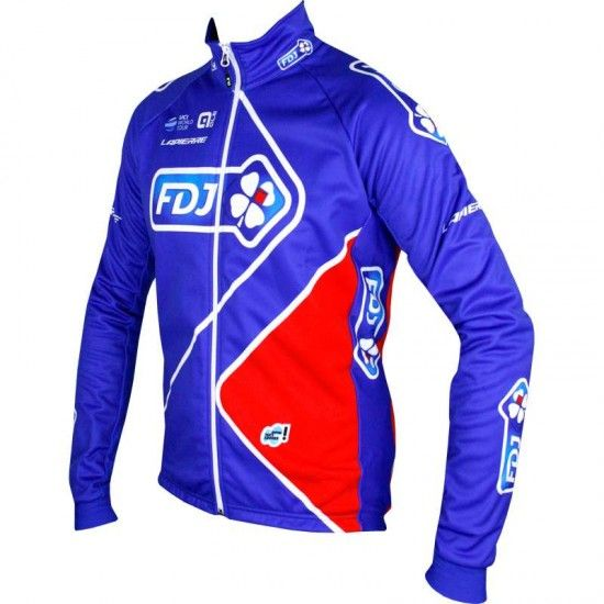Alé Fdj 2017 Winter Cycling Jacket - Ale Professional Cycling Team