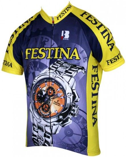 Biemme Festina 1994 Cycling Short Sleeve Jersey -Retro-Collection