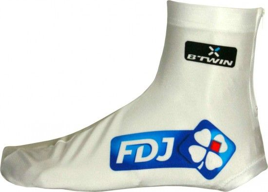 Btwin Francaise Des Jeux (Fdj) 2013 Cycling Overshoe/Shoe Cover - Professional Cycling Team
