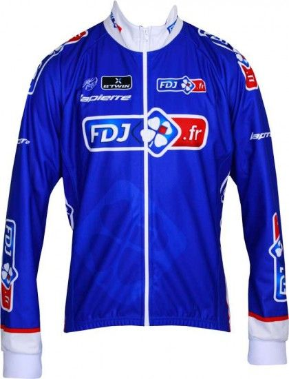 Btwin Francaise Des Jeux (Fdj) 2013 Cycling-Winter Jacket - Professional Cycling Team