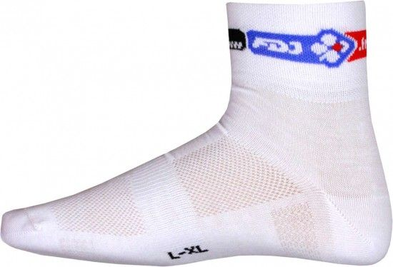 Btwin Francaise Des Jeux (Fdj) 2015 Cycling Coolmax Socks - B'Twin Professional Cycling Team