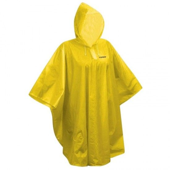 Force Poncho Kids Raincover Yellow (90695)