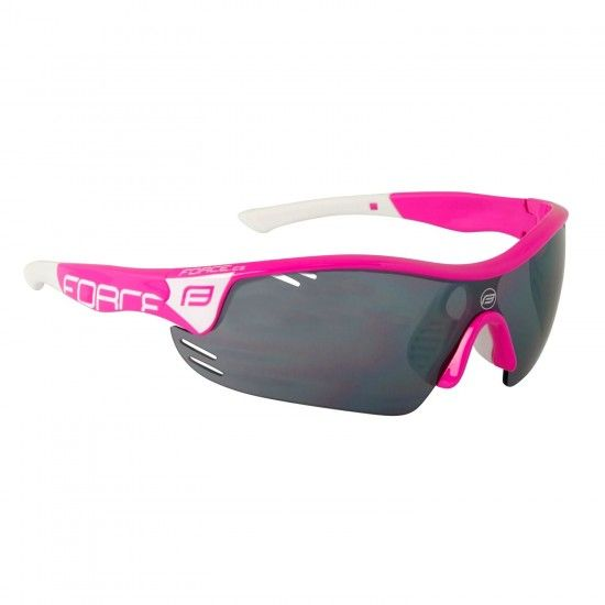 Force Race Pro Bike-/ Sport Eyewear Pink + 2 Extra Lens (909397)