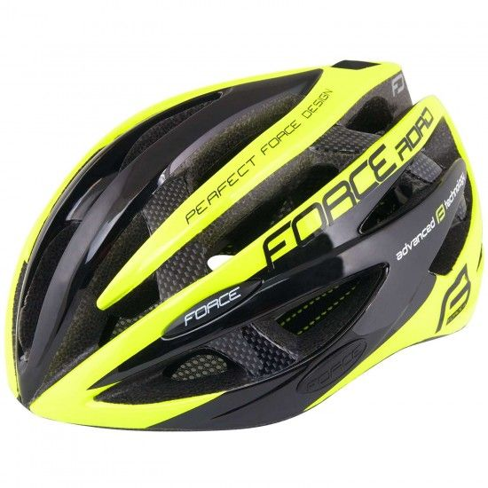 Force Road Cycling Helmet Fluo Yellow (902604-05)