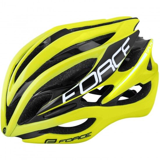 Force Saurus Cycling Helmet Fluo Yellow (902985-86)