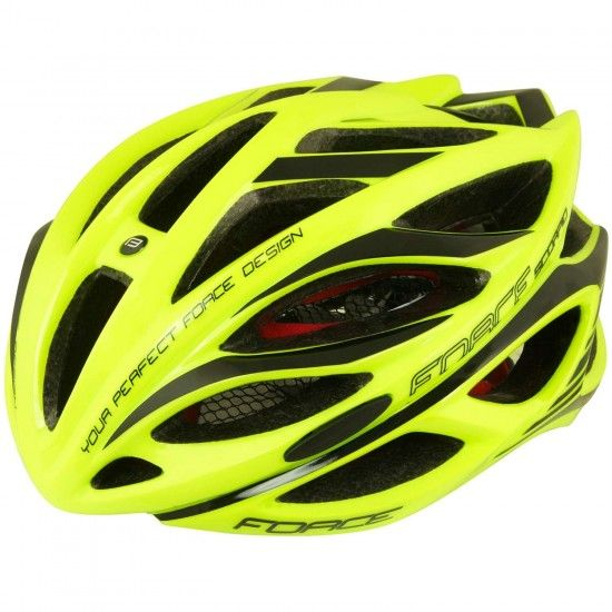 Force Scorpio Cycling Helmet Fluo Yellow (902936-37)