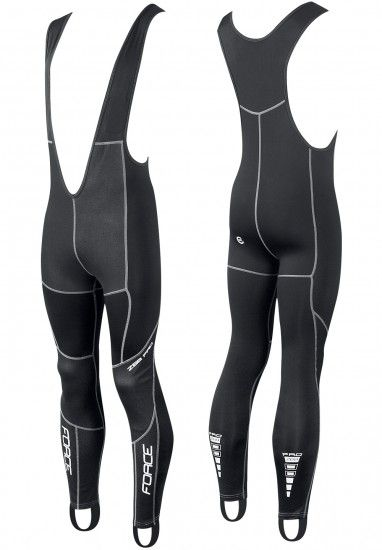 Force Windster Z68 Pro Cycling Bib Tights Black (90036)