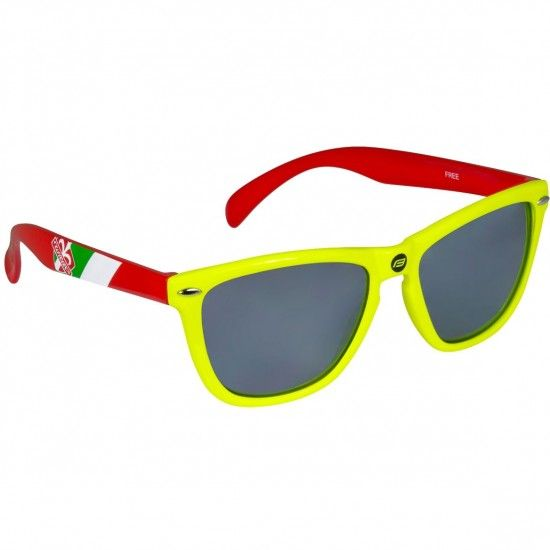 Force Wilier Free Fashion-/ Sport Eyewear Red/Yellow Fluo (91038)