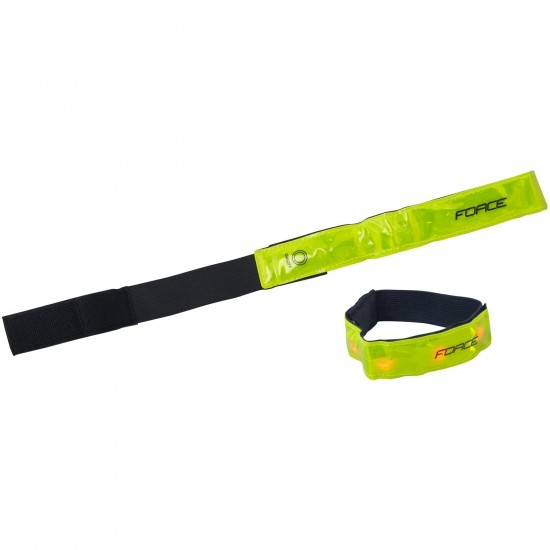Force Reflective Strap With 4 Led (46409)