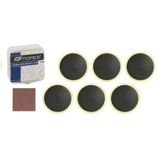 Force Tube Repair Kit Selfadhesive (6 Patches) (74009)