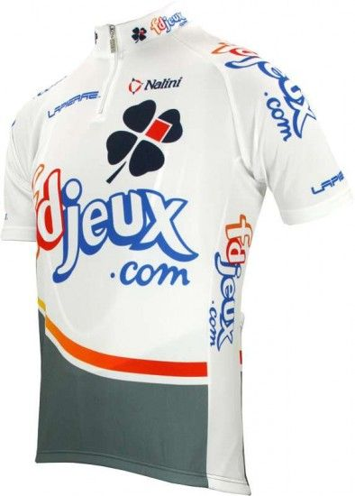 Nalini Francaise Des Jeux (Fdj) 2004 Tricot (Jersey Short Sleeve - Short Zip) - Professional Cycling Team