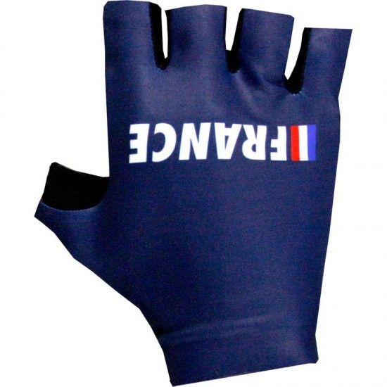 Alé France 2018 Short Finger Cycling Gloves - Ale National Cycling Team