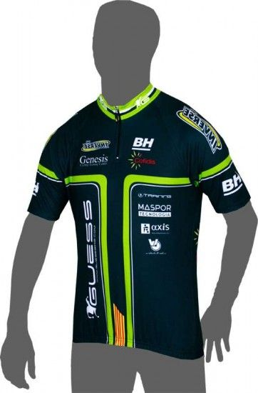 Inverse Genesis Cycling Team 2014 Short Sleeve Jersey (Short Zip) - Professional Cycling Team