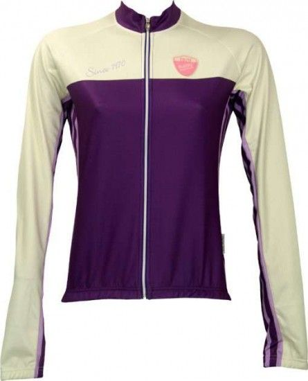 Nalini Gerbera Violet - Lady Cycling-Jersey (Long Sleeve-Jacket) - Cycling Clothing
