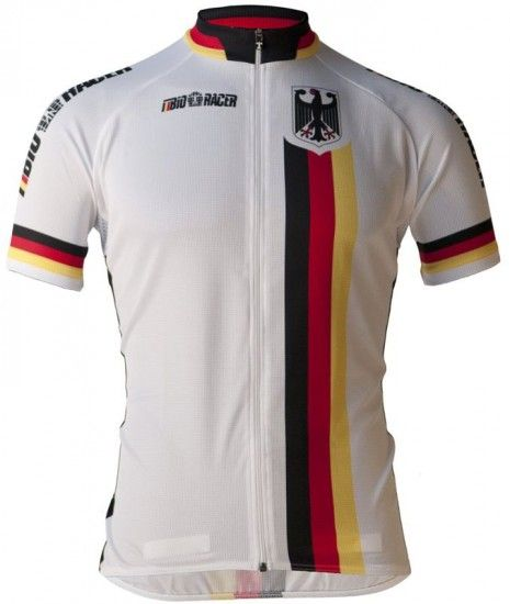 Bioracer Germany 2019 Jersey With Long Zip - National Cycling Team