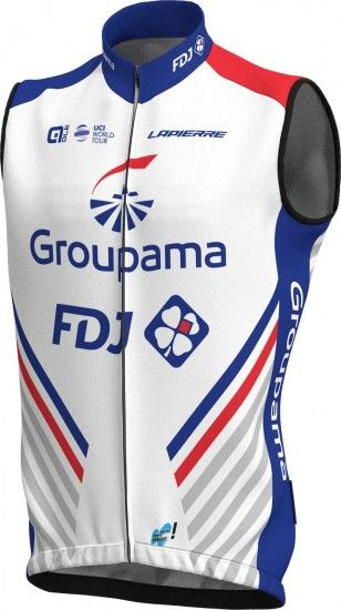 Alé Groupama-Fdj 2018 Cycling Gilet - Ale Professional Cycling Team