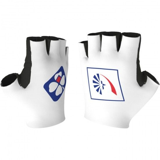 Alé Groupama-Fdj 2018 Short Finger Cycling Gloves - Ale Professional Cycling Team