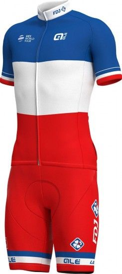 Alé Groupama-Fdj French Champion 2018/19 Cycling Bib Shorts - Ale Professional Cycling Team